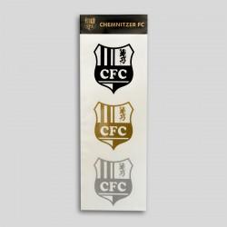 CFC-Aufkleber 3er Set