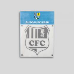 Autoaufkleber CFC 10cm silber