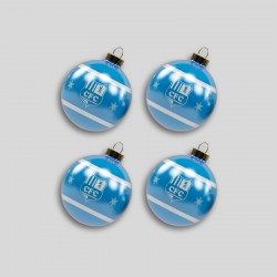CFC Weihnachtskugel  4er Set